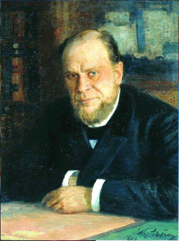 Портрет А.Ф.Кони. 1898. Русский художник Илья Ефимович Репин.jpg