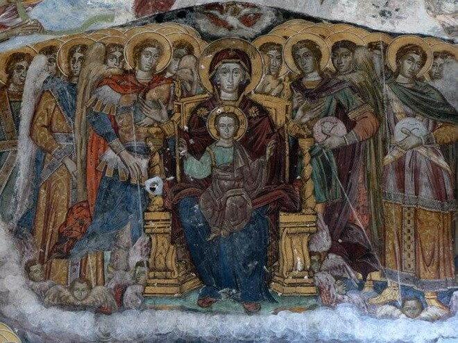 Монастырь Панагия Сумела. Турция