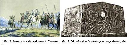1.-Аланы-в-походе-2.-Общий-вид-царской-гробницы