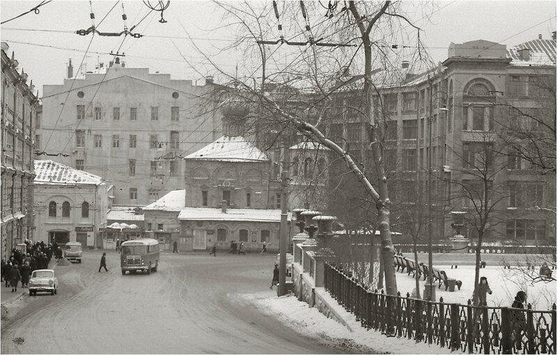 Москва недавняя, но уже ушедшая