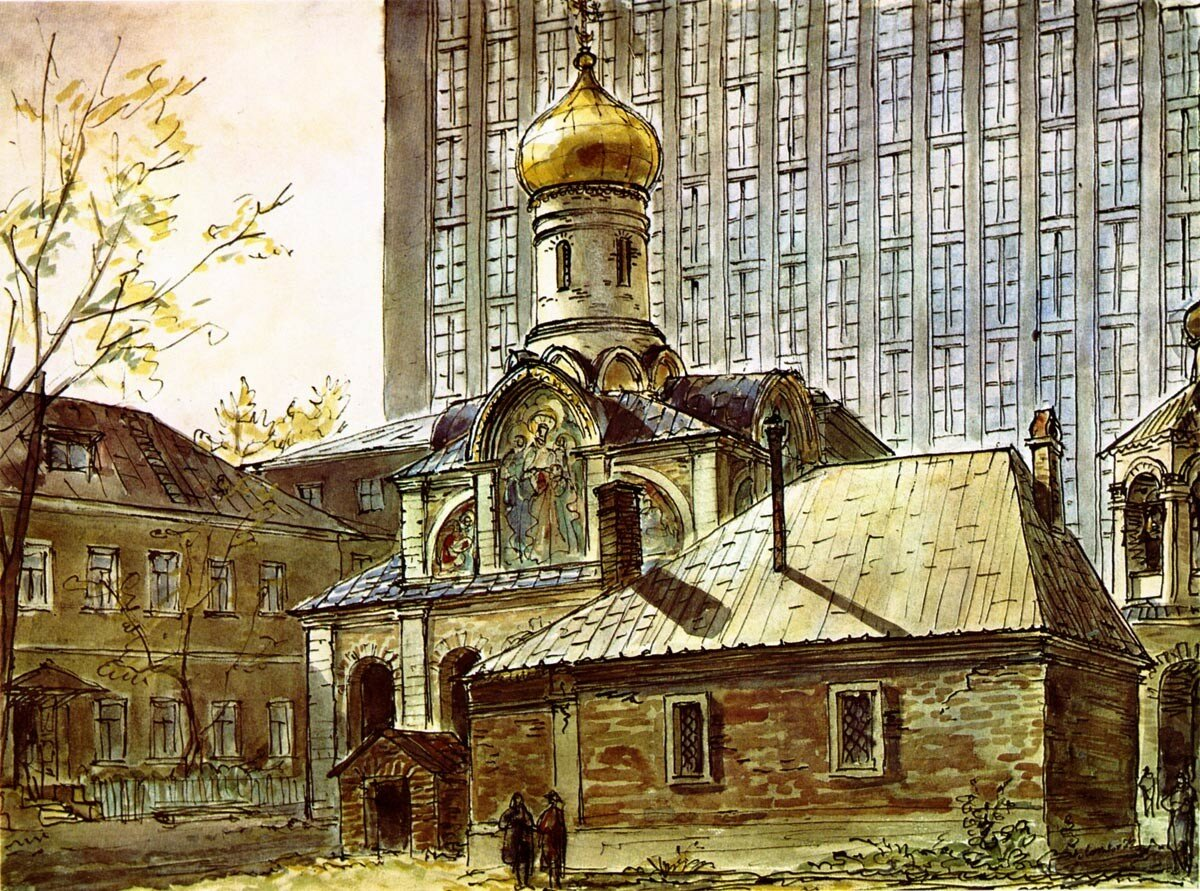 Церковь Благовещения на Старом Ваганькове (по материалам П. Барановского).jpg