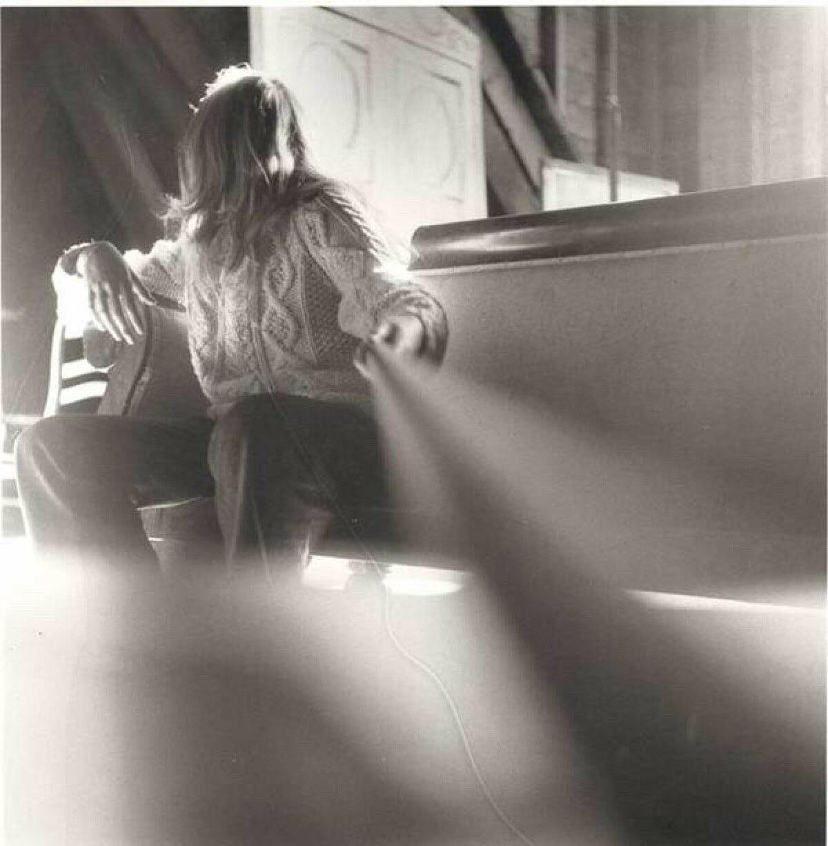 1971. Автопортрет в 13 лет. Первая работа Франчески