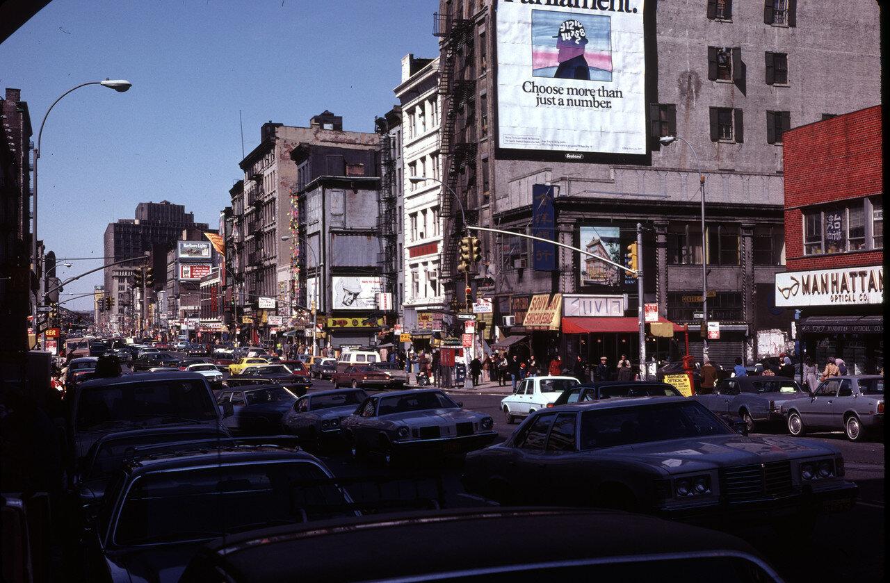 Нью-Йорк. Канал-стрит в китайском квартале