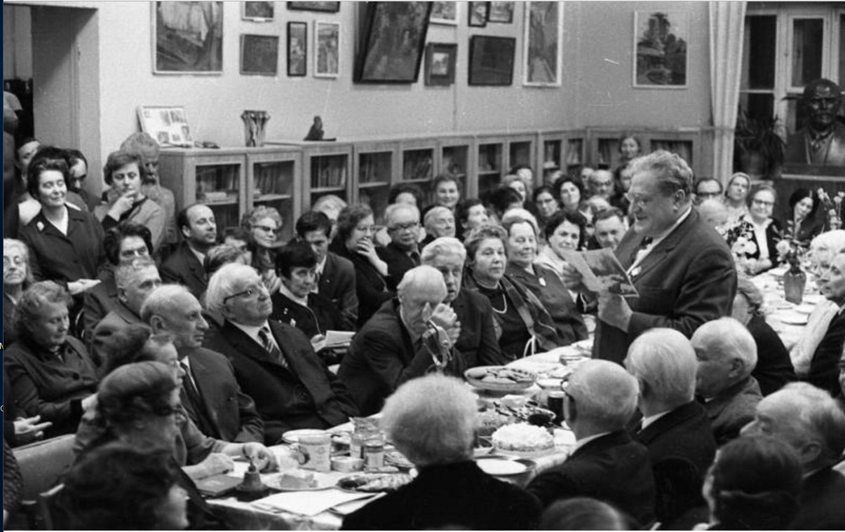 1970. Семидесятилетний юбилей Виктора Ардова