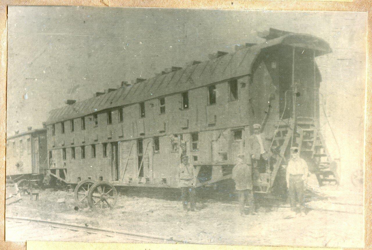 1900-е. Двухэтажный пассажирский вагон постройки Тверского завода