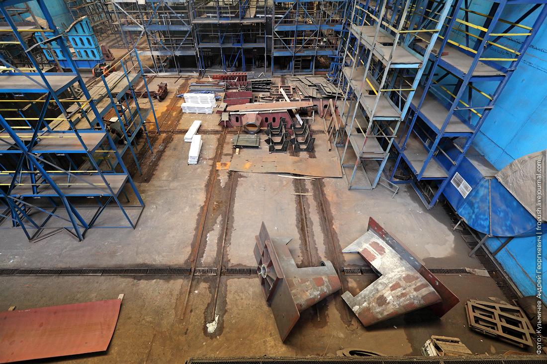 фото стапель зеленодольский судостроительный завод