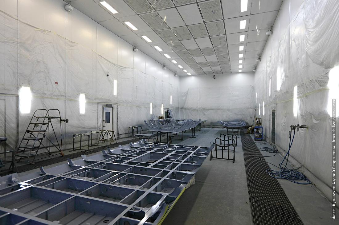 Казанский вертолетный завод фотография окрасочно-сушильной камеры