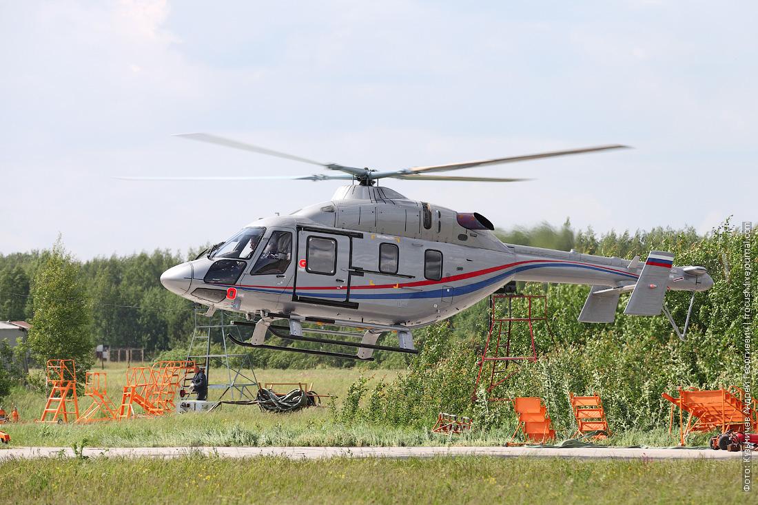 Казань вертолет Ансат на заводе