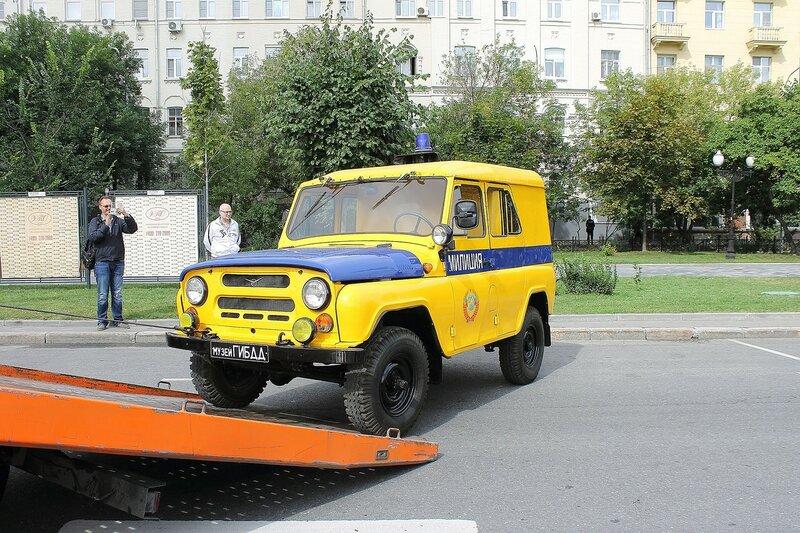 Праздник московского автобуса ( ч1 )