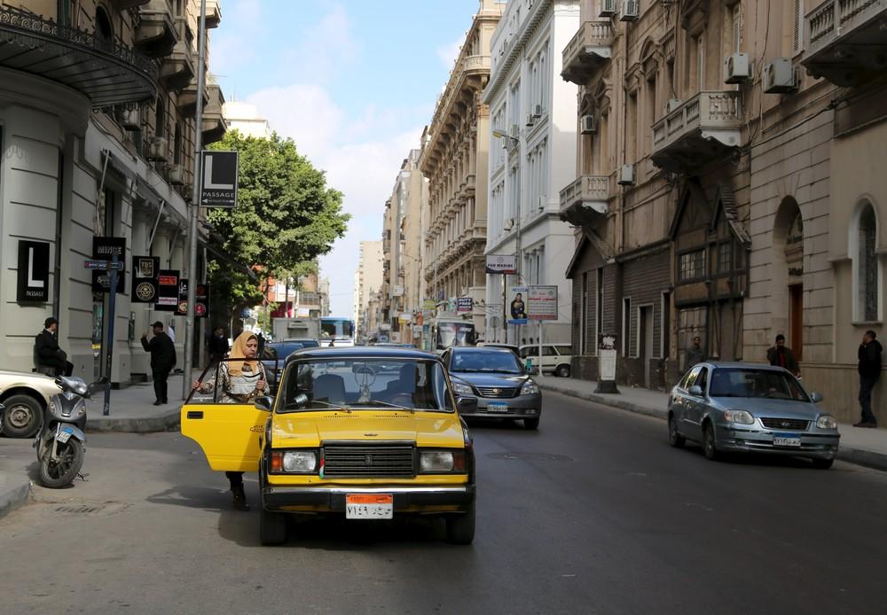 Кадры повседневной жизни в Египте