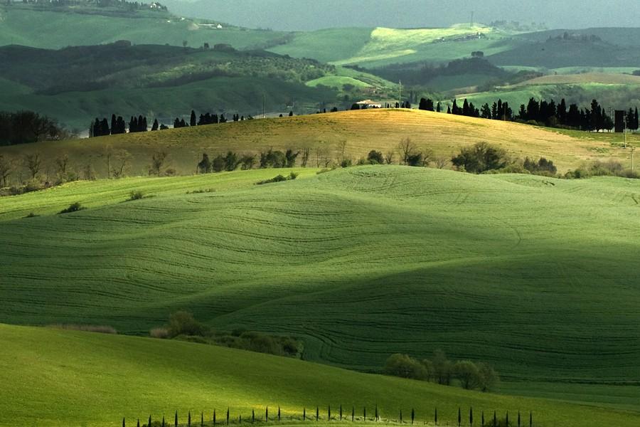 Красивые пейзажи Юре Краванья