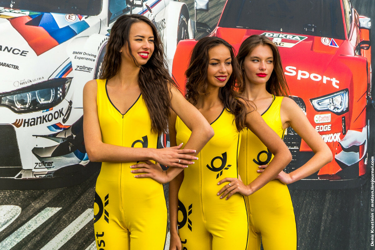 PitGirls, DTM Moscow Raceway 2015
