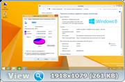 Windows 8.1 x64 Pro Reactor 2015 обновления от 25.09.2016 6.3.9600.17476 [Ru]