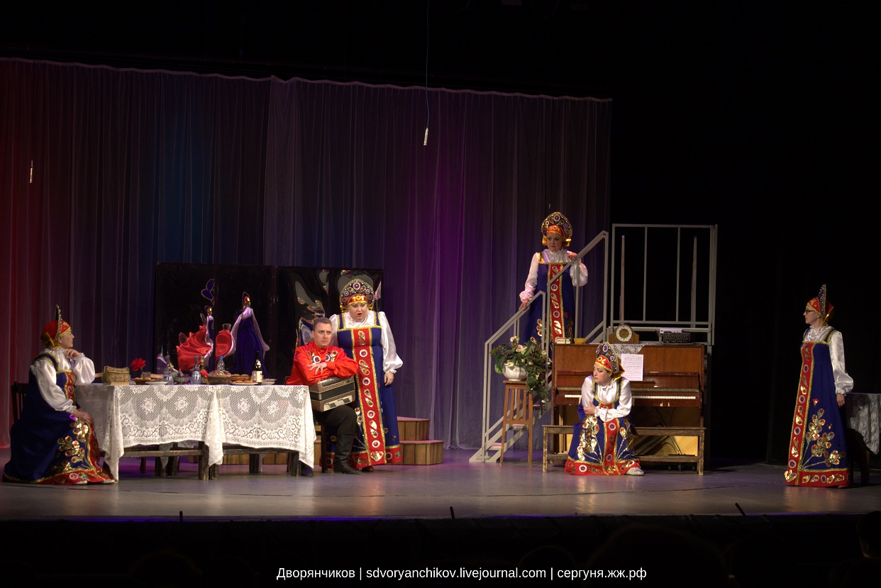 Баба Шанель - Волгоградский музыкальный театр - 8 апреля 2016