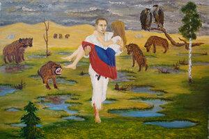 «Путин спасает Россию»