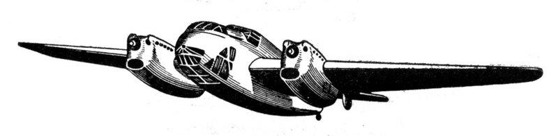 Силуэты итальянских самолетов (1939) 028