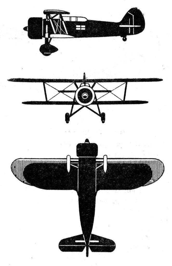 Силуэты итальянских самолетов (1939) 041