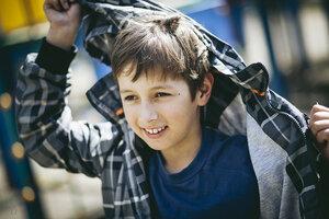 Фотосессия на детской площадке
