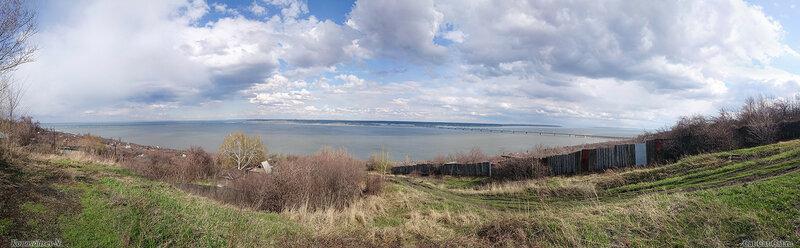 Панорама Волги
