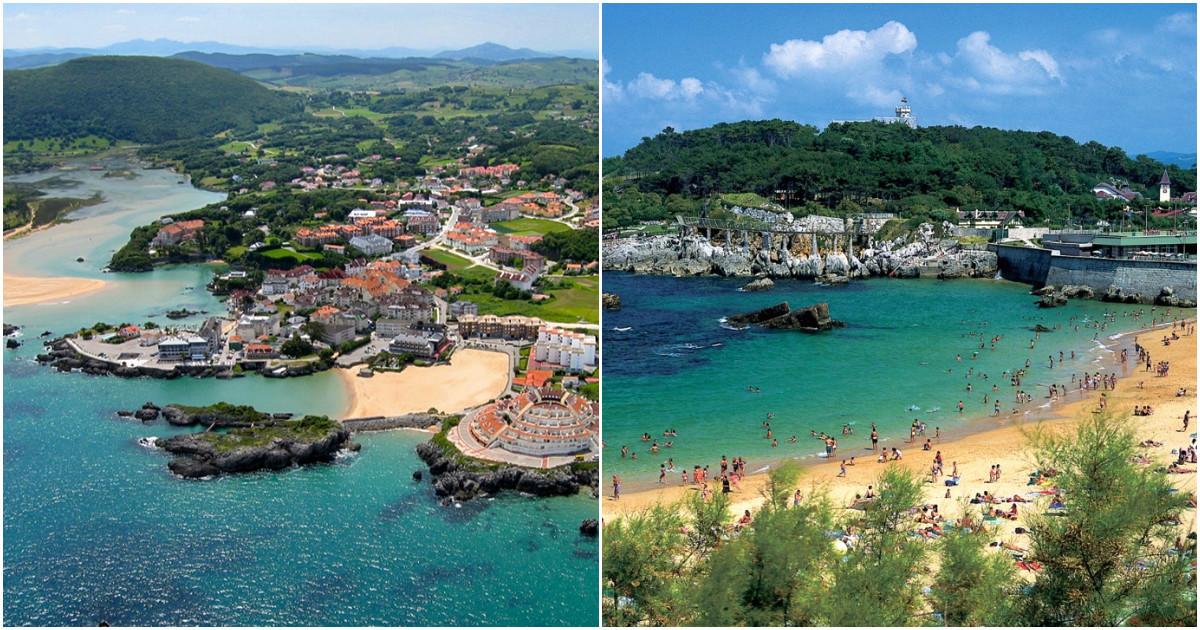 Климат на курортах Кантабрии подвержен влиянию влажных масс с Атлантики. Обычно зима здесь очень тёп