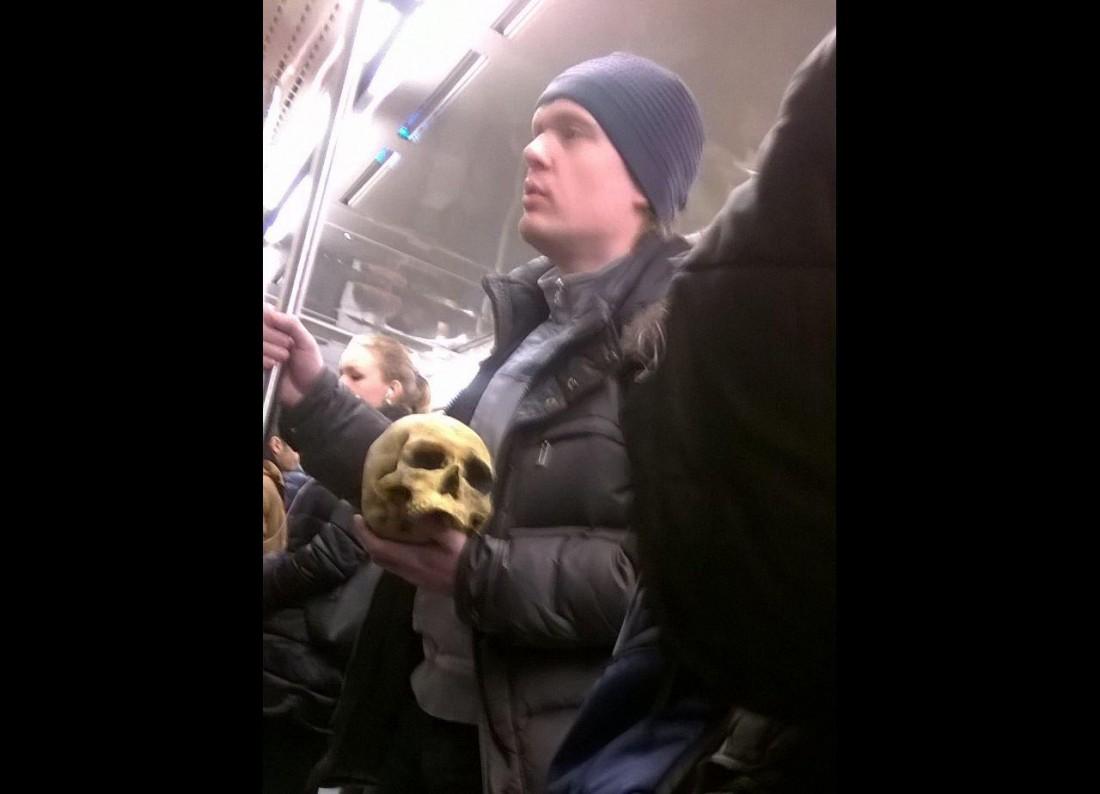 Модники в российском метро - 5