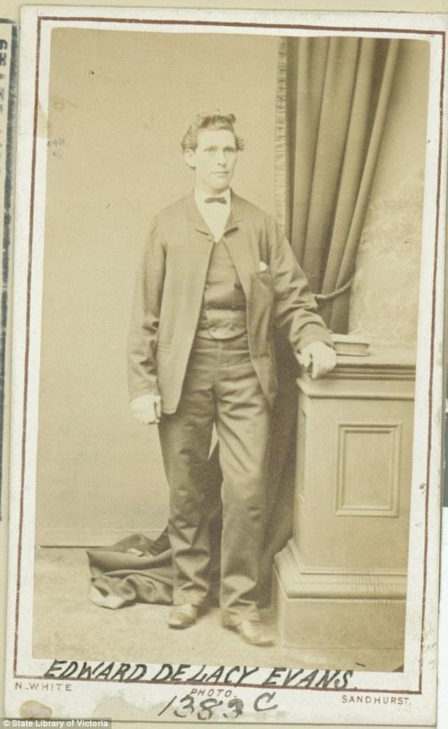Когда Эванса выпустили из больницы в 1879 году, он стал частью шоу Panorama Showmen в Гилонге и Стоу