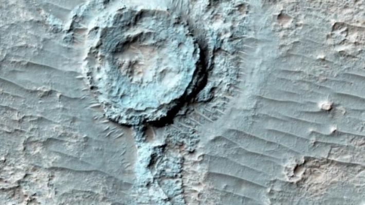 Ученые: НаЗемле найдены свидетельства наличия марсианской жизни