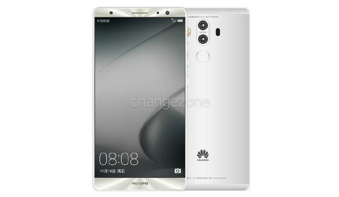 Официальные рендеры Huawei Mate 9 вовсех цветах