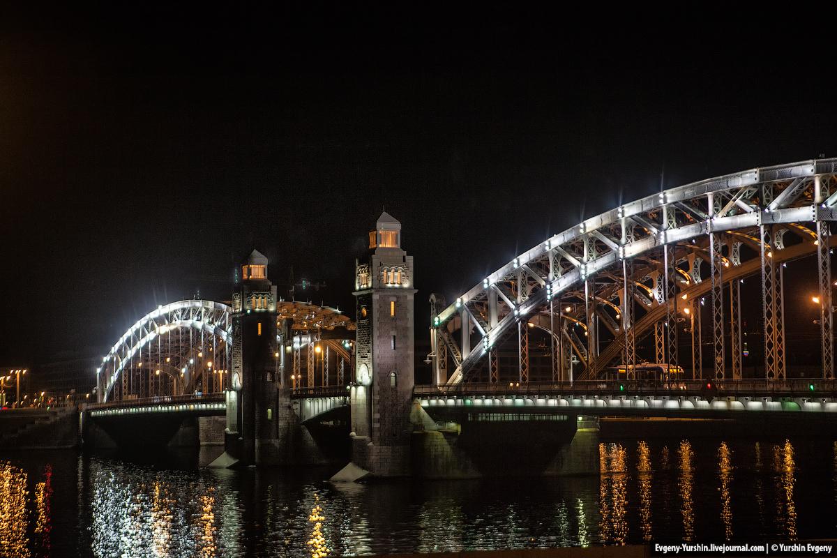 Большеохтинский мост. Мост Петра Великого.