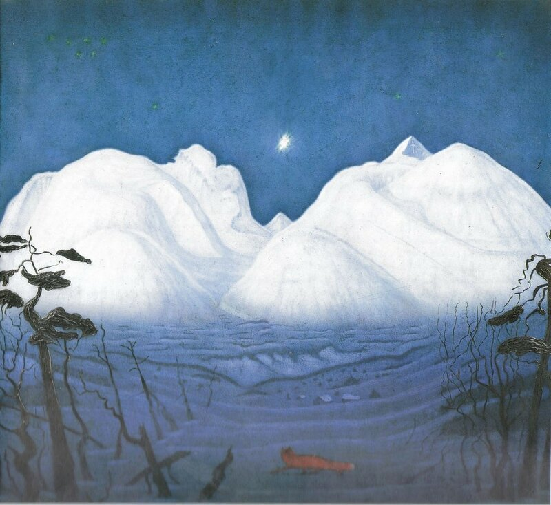 Vinternatt i fjellene III