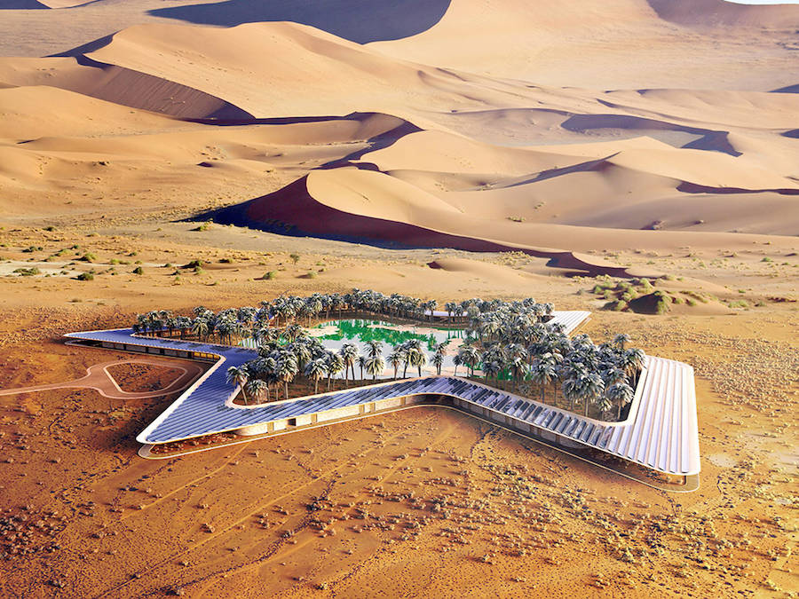 Incredible Eco Resort in the United Arab Emirates (7 pics)