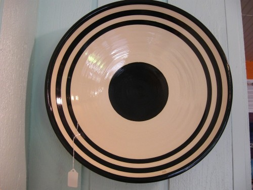 Work by Michigan ceramicist Jeff Blandford who I met at his shop in Saugatuck earlier this summer. I