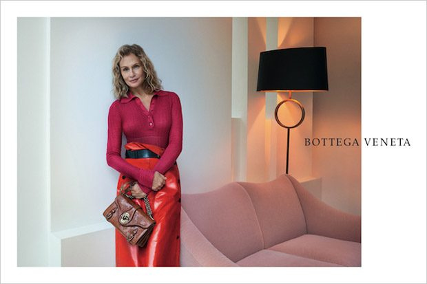Lauren Hutton, Joan Smalls & Vittoria Ceretti for Bottega Veneta SS17 Ads (4 pics)