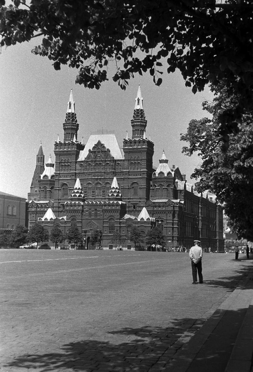 Исторический музей. Foto: Manfred Uhlenhut. Июнь, 1964