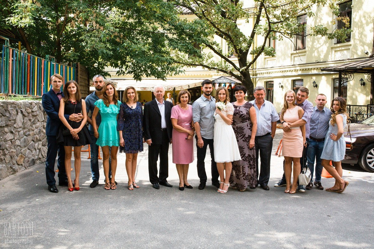 Свадебные фотогорафии Оксаны и Димы