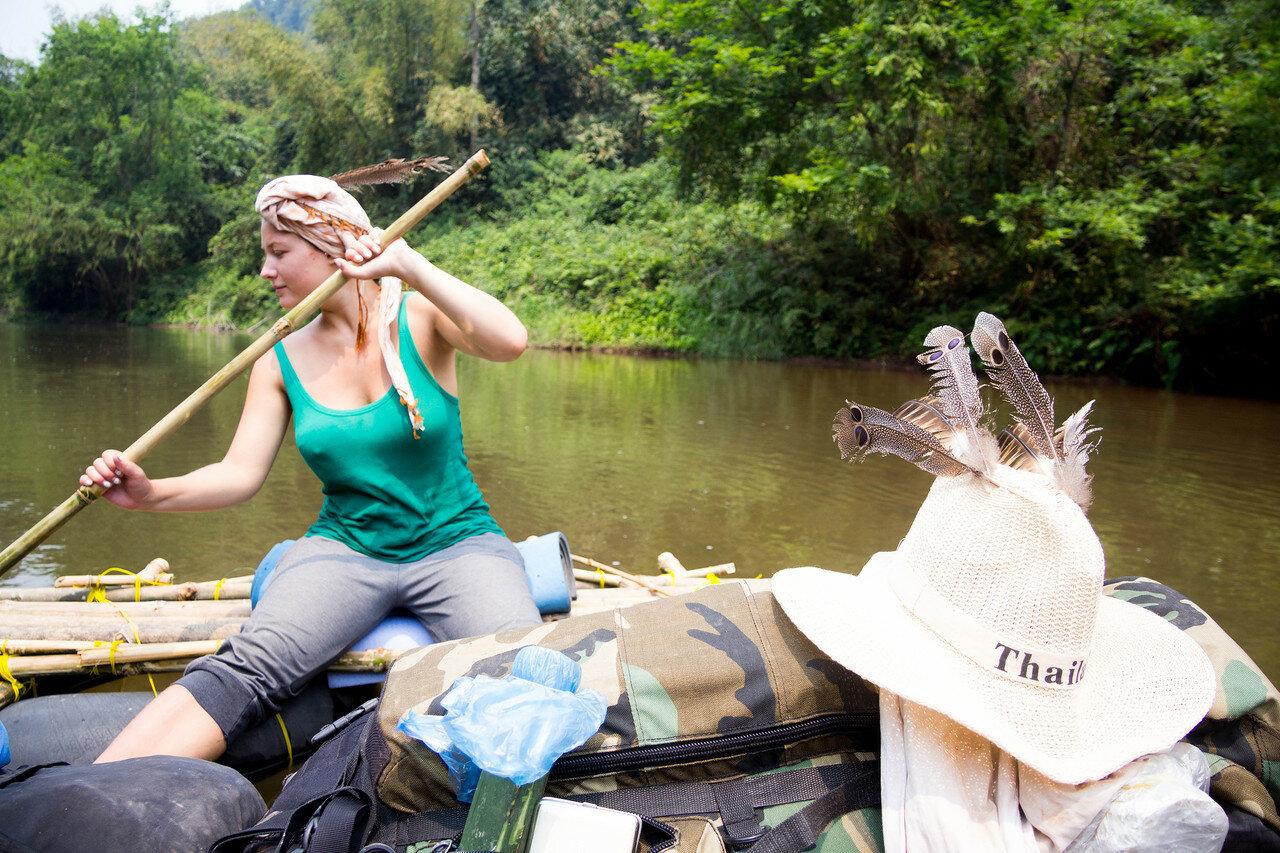 Плоты для сплава по рекам своими руками