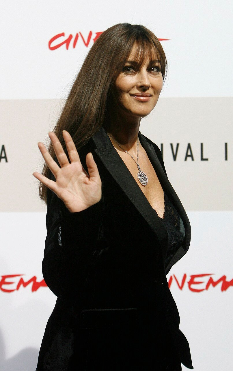 Monica Bellucci poses during a photo call for Film Festival