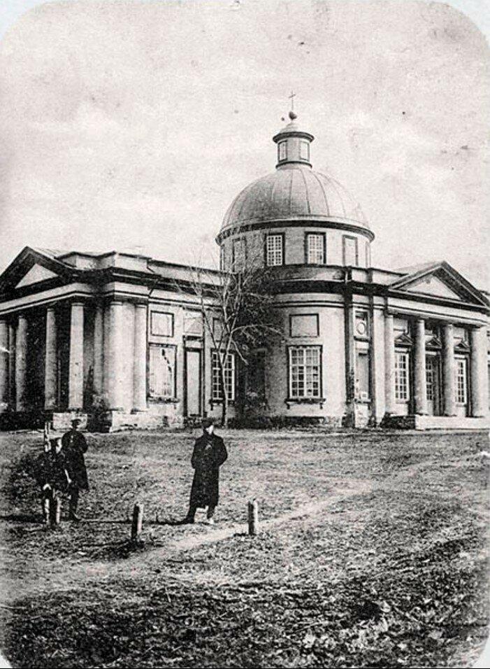 Графская сторона. Казанская церковь
