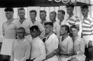 Челябинск. Команда футболистов Челябинского тракторного завода. 1935