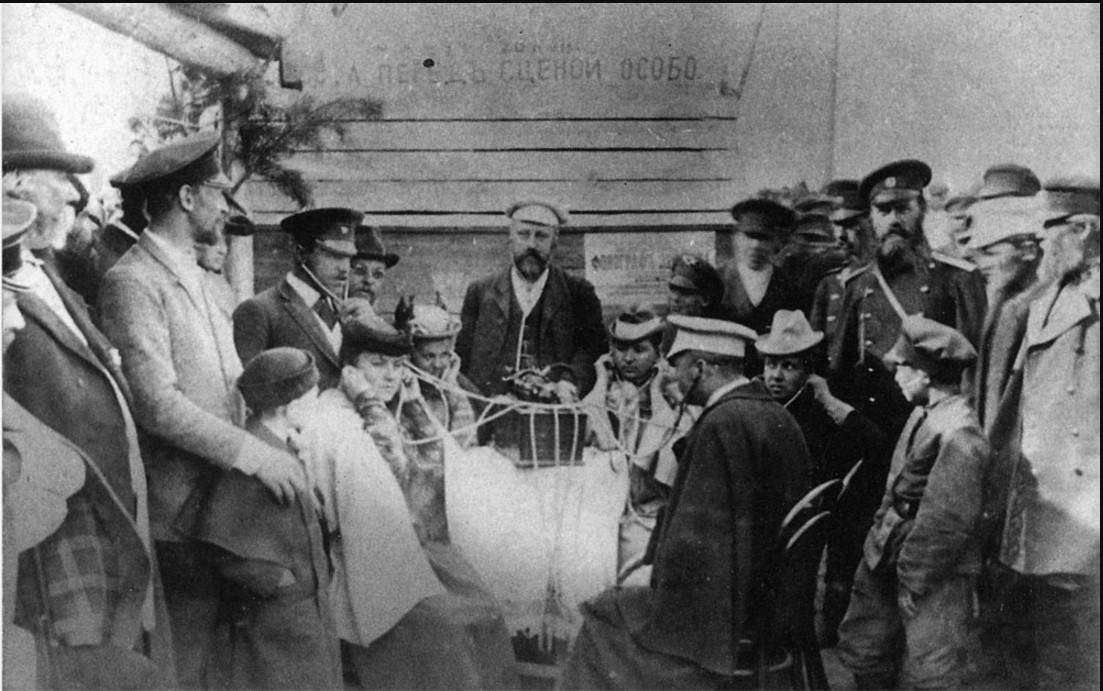 Первый фонограф (1897)