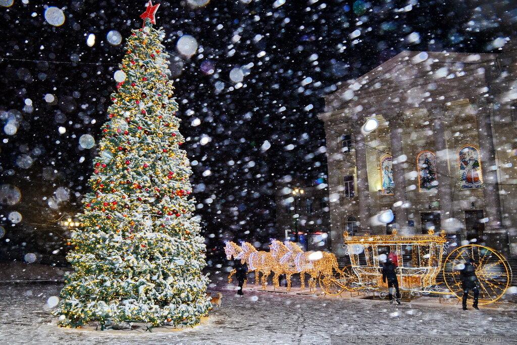 СЕВАСТОПОЛЬ. Снегопад в Рождество