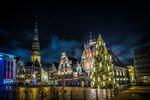 Рождественская Рига (Латвия)