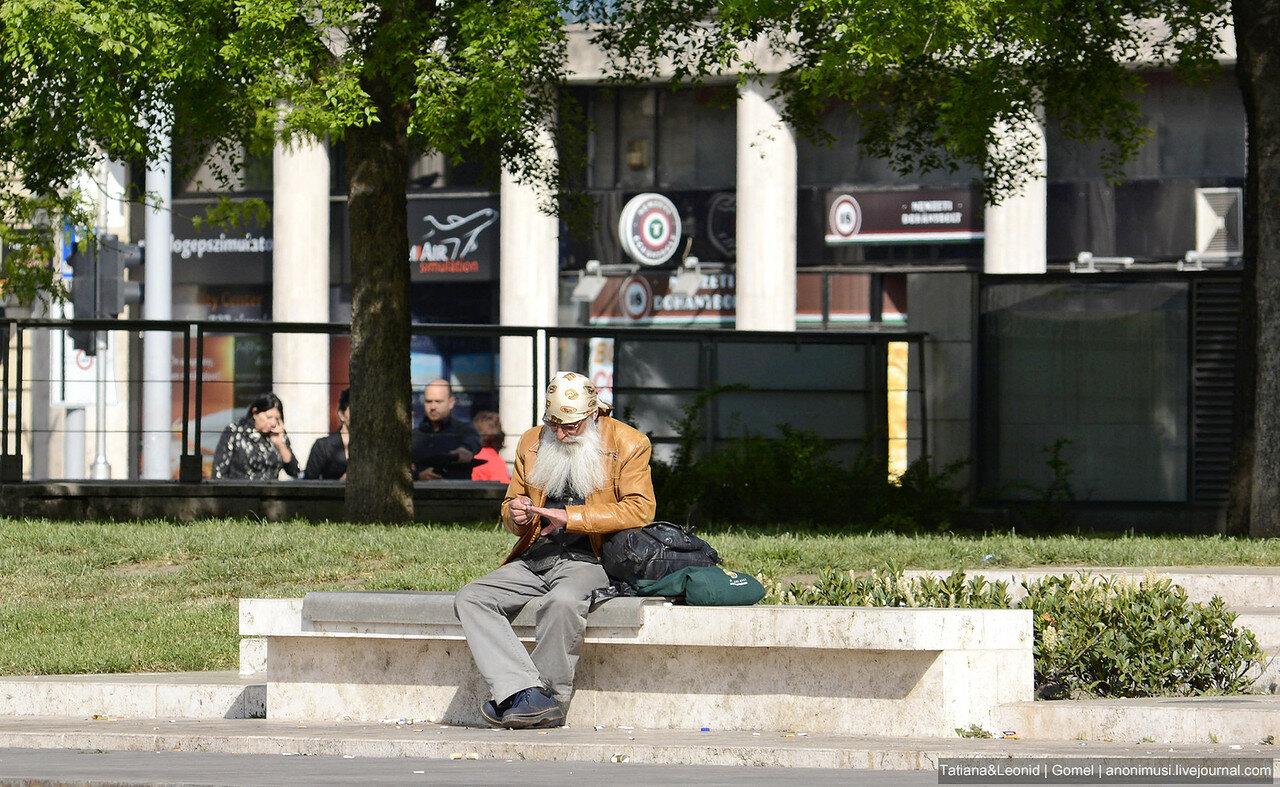 Люди в Будапеште