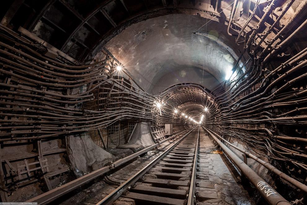 5. Нора хоббита. Сбойка между тоннелями.