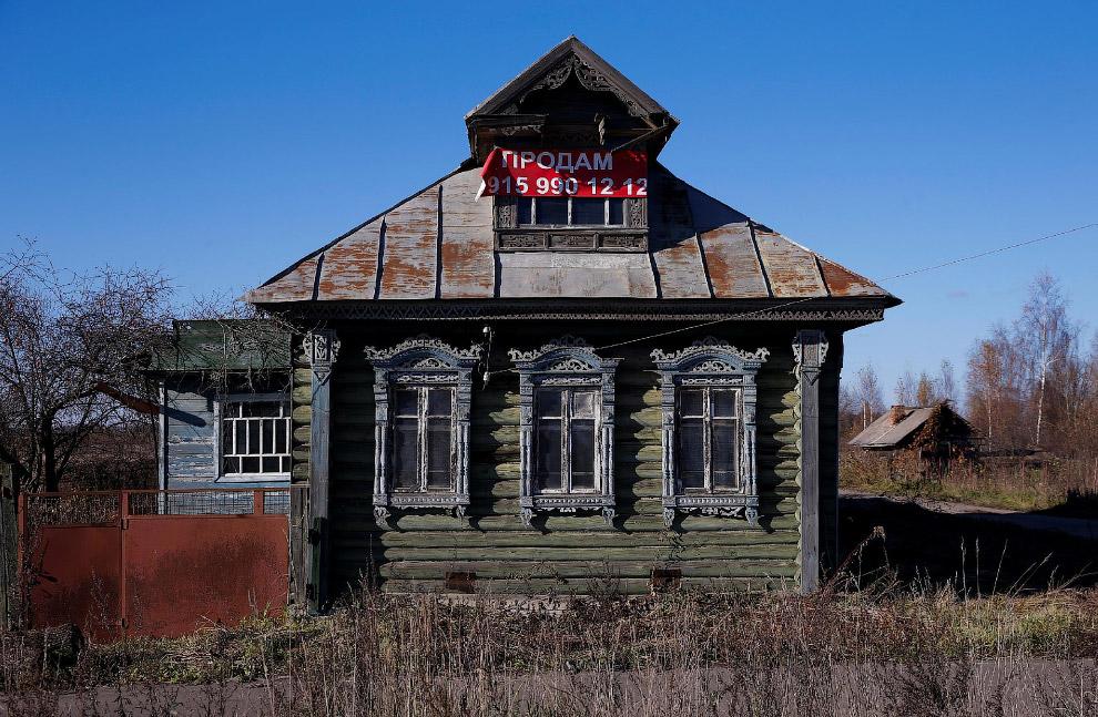 9. Деревня Осурово в Ярославская области, 24 октября 2016. (Фото Maxim Shemetov | Reuters):
