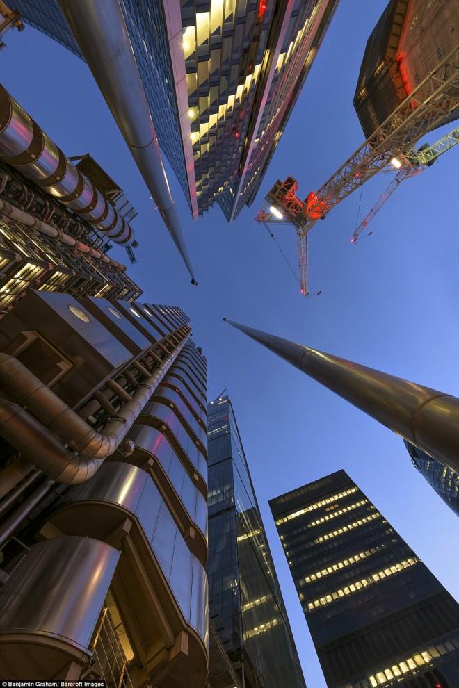 Лондонские небоскрёбы.