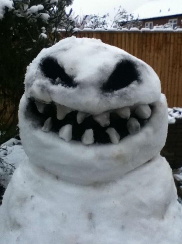Или то, что снеговики должны быть добрыми?