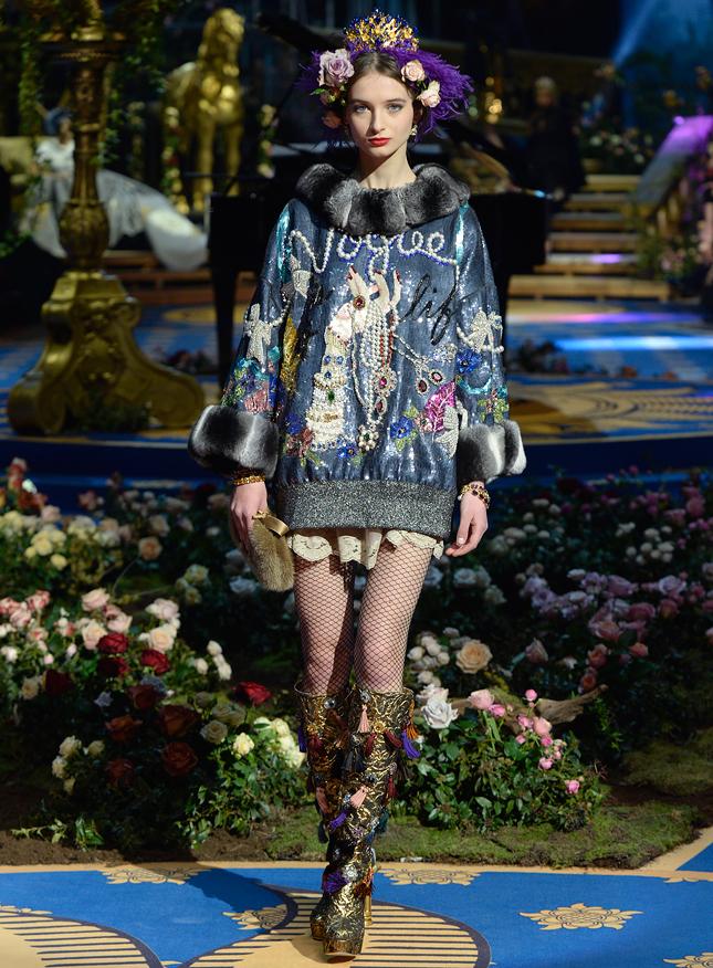 Dolce & Gabbana Alta Moda весна-лето 2017 (27 фото)