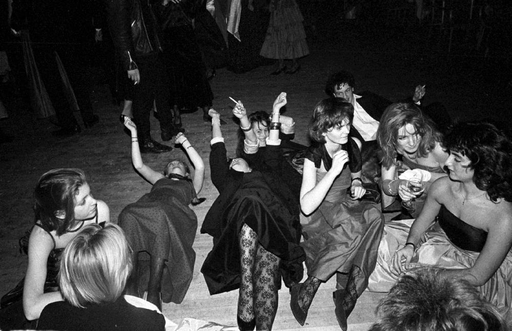 Бал «Близзард» в отеле Grosvernor House, Лондон, 7 января 1986 года.