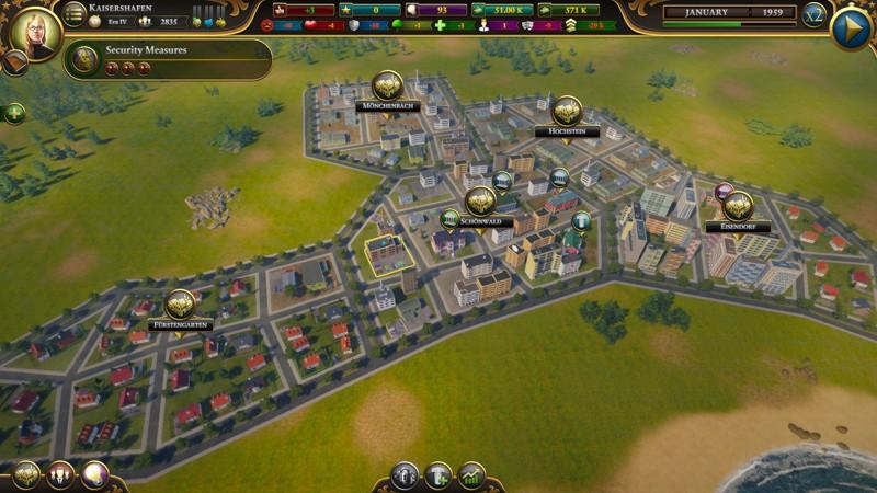 В Urban Empire игрокам предстоит не только строить свой город, планируя районы и инфраструктуру, но